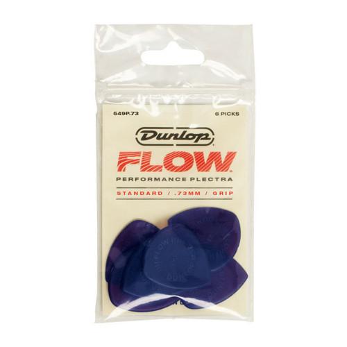 Jim Dunlop FLOW™ .73mm Standard Pick 6-pack