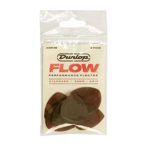 Jim Dunlop FLOW™ .88mm Standard Pick 6-pack