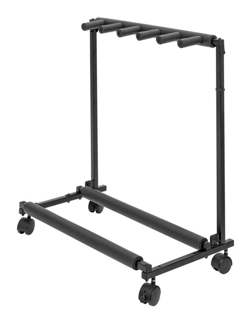 Xtreme 5-Guitar Multi Rack with Wheels