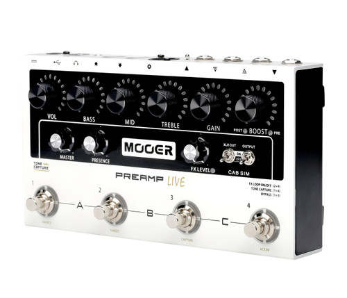 Mooer Preamp Live - Programmable Multi Preamp Pedal