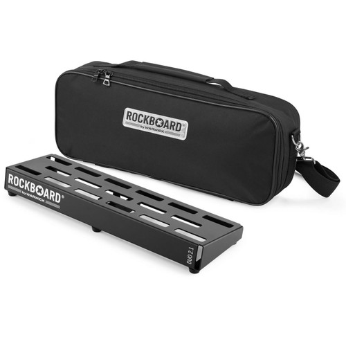 RockBoard® DUO 2.1 Pedal Board with Gig Bag