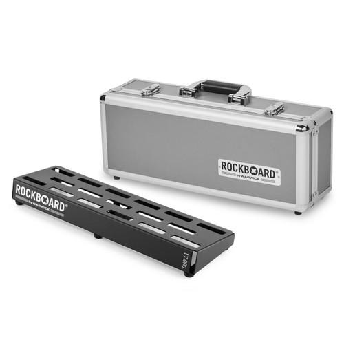 RockBoard® DUO 2.1 Pedal Board with Flight Case