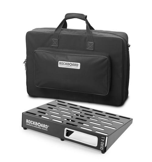 RockBoard® QUAD 4.1 Pedal Board with Gig Bag