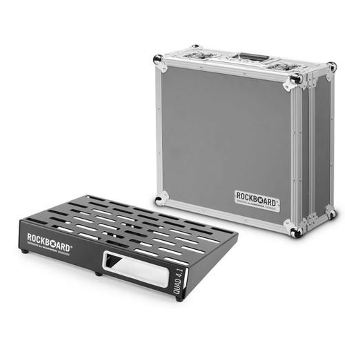 RockBoard® QUAD 4.1 Pedal Board with Flight Case
