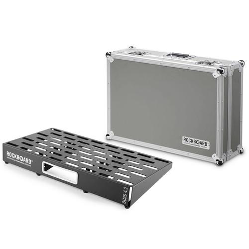 RockBoard® QUAD 4.2 Pedal Board with Flight Case