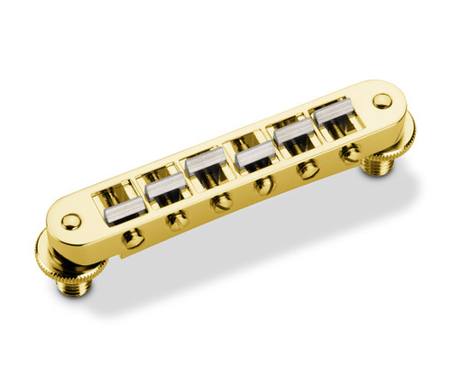 Schaller GTM powered by KTS Guitar Bridge - Gold