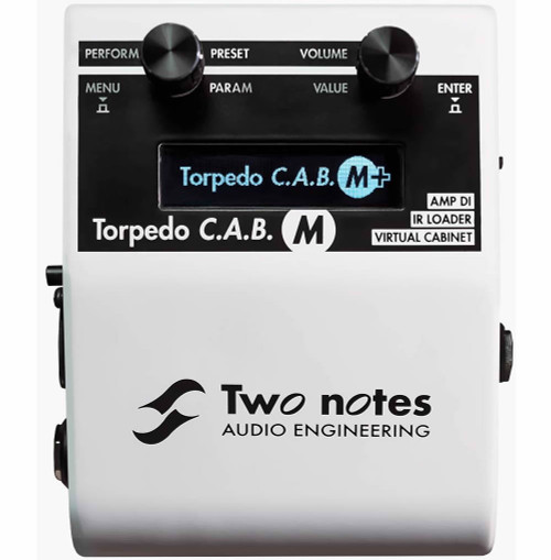 Two Notes Torpedo C.A.B.M+ Cab Emulator