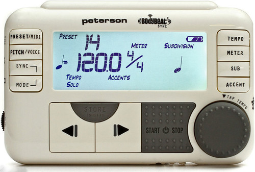 Peterson Body Beat Sync Metronome