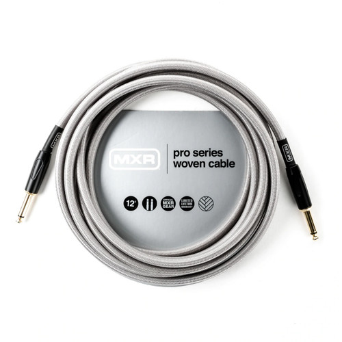 MXR 12 foot Pro Series Woven Instrument Cable