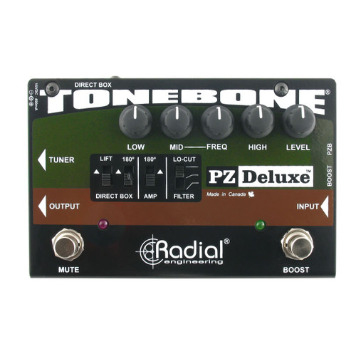 Radial Engineering PZ-Deluxe Acoustic Instrument Preamp