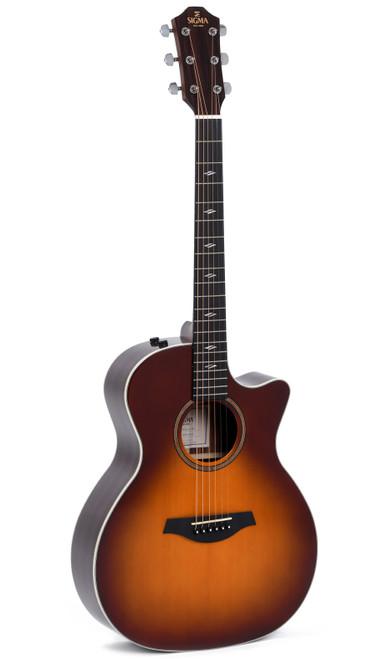 Sigma GTCE-2-SB Sunburst Acoustic/Electric Modern Series Guitar