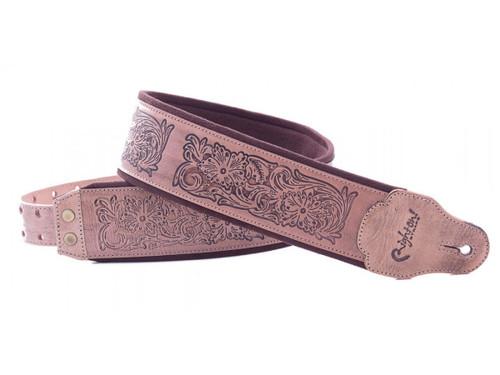 Right On Straps Leathercraft Charro Guitar Strap