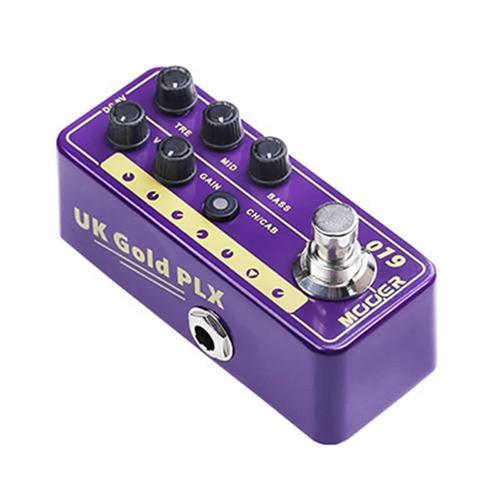 Mooer 019 UK Gold PLX Micro Preamp