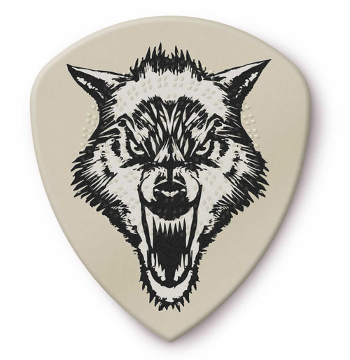 Jim Dunlop 1.0mm James Hetfield White Fang™ Custom Flow® Pick