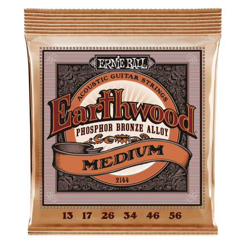 Ernie Ball Earthwood Phosphor Bronze Acoustic Strings