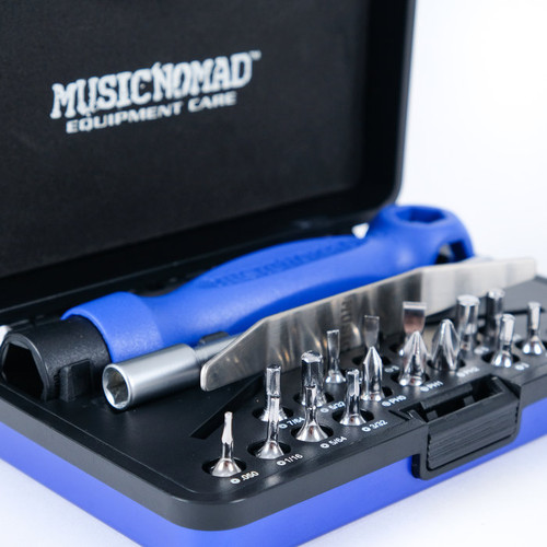 Music Nomad Premium Guitar Tech Screwdriver and Wrench Set