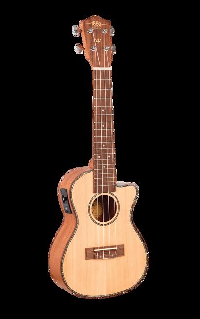 1880 Ukulele EU200CCE Concert Acoustic/Electric Uke