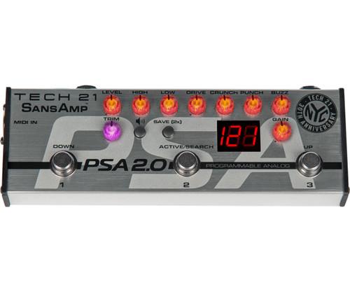 SansAmp PSA 2.0 Programmable Pedal