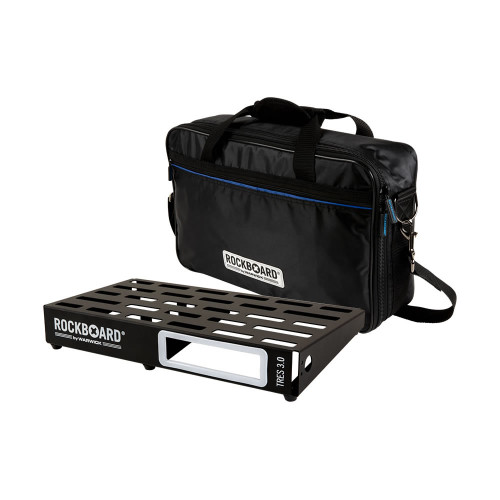 RockBoard® TRES 3.0 Pedal Board with Gig Bag
