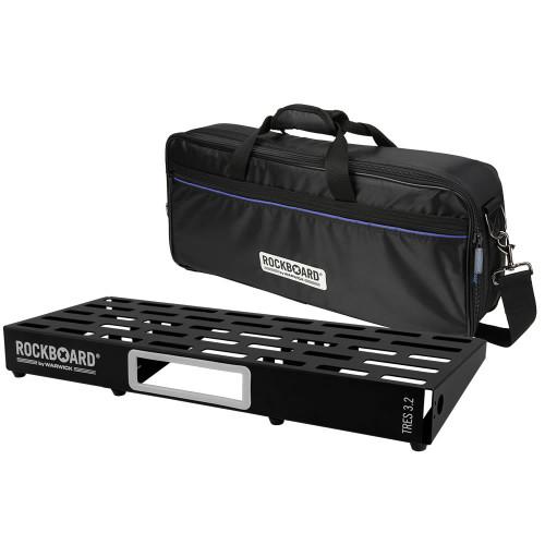 RockBoard® TRES 3.2 Pedal Board with Gig Bag