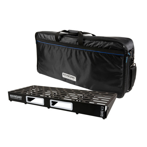 RockBoard® QUAD 4.3 Pedal Board with Gig Bag