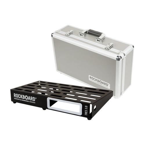 RockBoard® TRES 3.0 Pedal Board with Flight Case