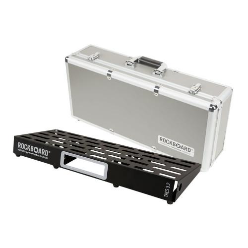 RockBoard® TRES 3.2 Pedal Board with Flight Case