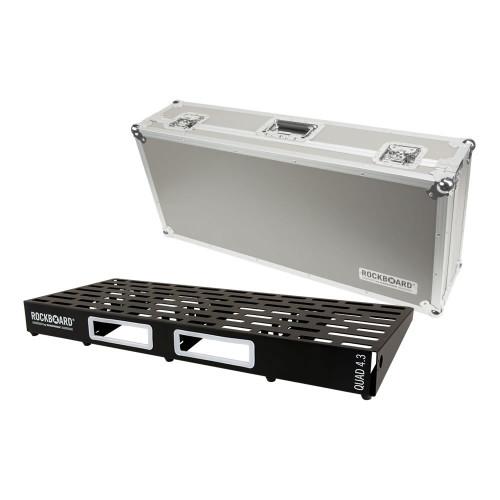 RockBoard® QUAD 4.3 Pedal Board with Flight Case