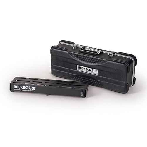RockBoard® DUO 2.1 Pedal Board with ABS Case