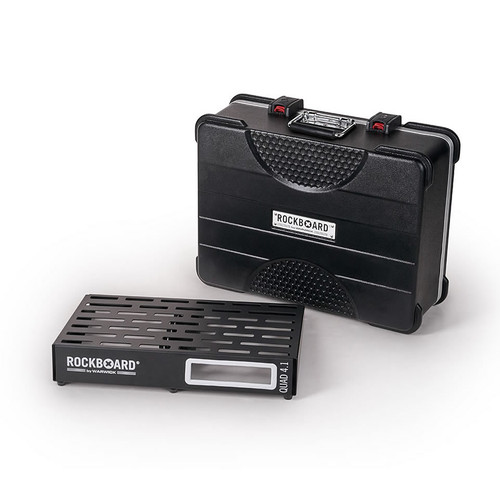 RockBoard® QUAD 4.1 Pedal Board with ABS Case