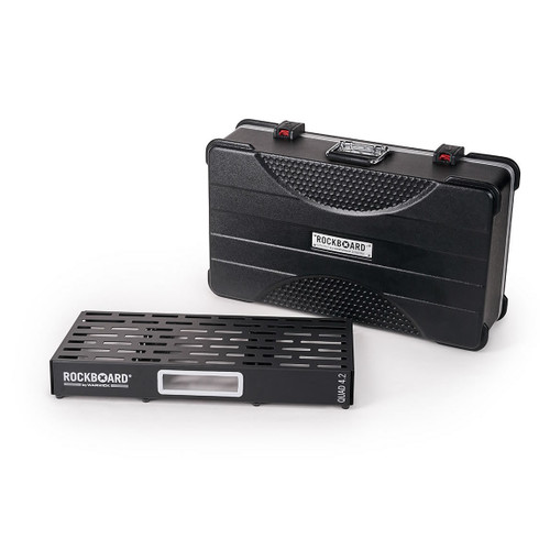 RockBoard® QUAD 4.2 Pedal Board with ABS Case