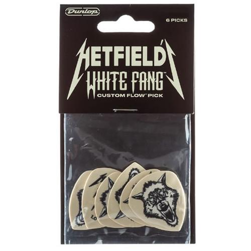 Jim Dunlop James Hetfield 1.0mm White Fang™ Player's Pack