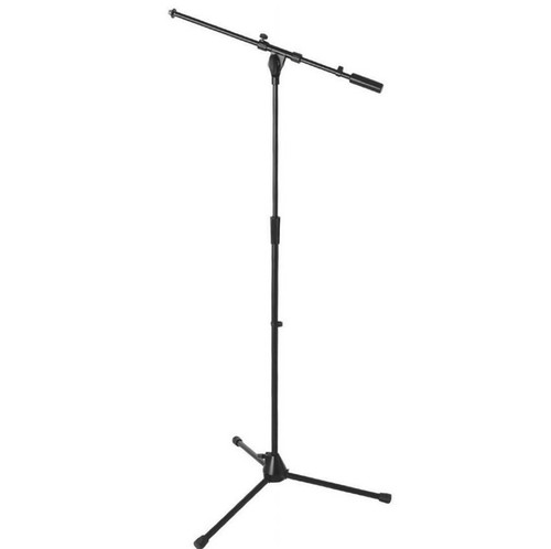 On-Stage Stands MS9701B+ Heavy-Duty Euro Boom Mic Stand