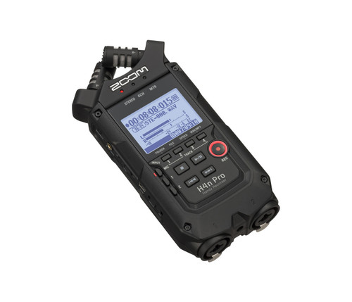 ZOOM H4N Pro Portable 4 track Recorder
