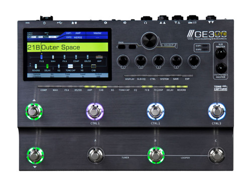 Mooer GE300 Lite Multi Effects and Amp Modelling