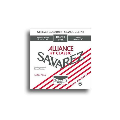 Savarez Alliance 540R Standard Tension Classical Guitar Strings
