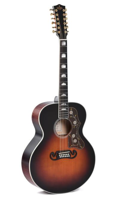 Sigma GJA12-SG200 12-String Acoustic/Electric Guitar