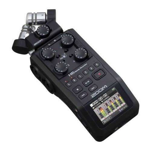 ZOOM H6 Black Portable Recorder