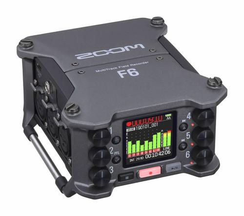 ZOOM F6 32-bit Professional Field Recorder