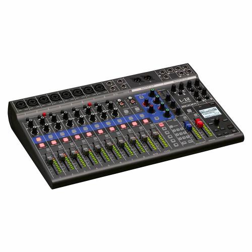 ZOOM LiveTrak L-12 Live Sound and Recording