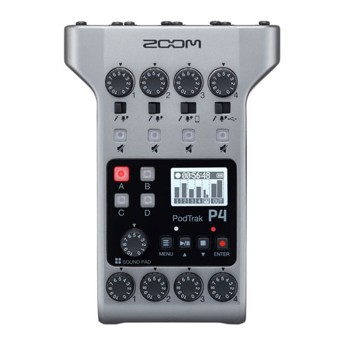 ZOOM P4 PodTrak PodCast Recorder