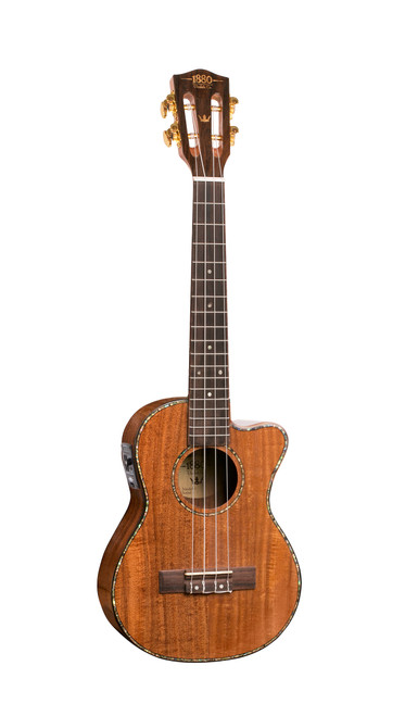 1880 Ukulele EU300TCE Tenor Acoustic/Electric Ukulele