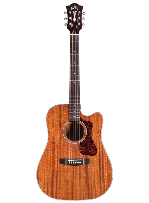 Guild D-120CE Cutaway Acoustic/Electric Natural