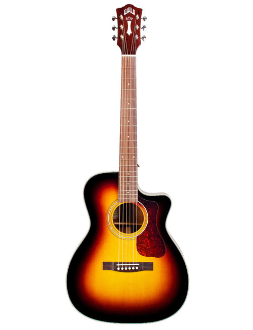 Guild Westerly OM-140CE Acoustic/Electric - Antique Sunburst