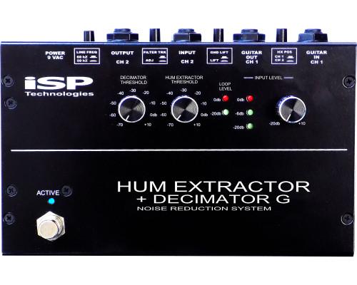 ISP Technologies Hum Extractor + Decimator G Pedal