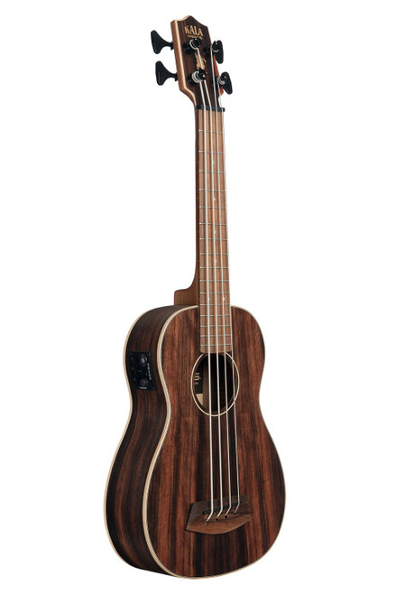Kala Striped Ebony Round Wound Acoustic/Electric U•BASS®