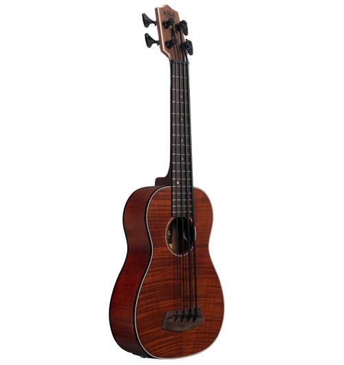 Kala Left-Hand Exotic Mahogany Acoustic/Electric U•BASS®