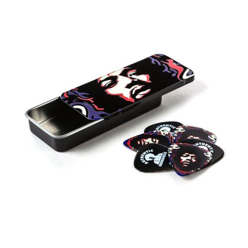 Jim Dunlop Jimi Hendrix Star Haze Pick Tin