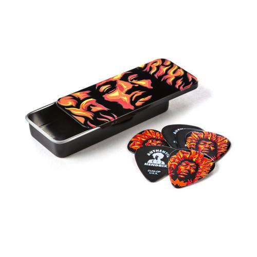 Jim Dunlop Jimi Hendrix Voodoo Fire Pick Tin