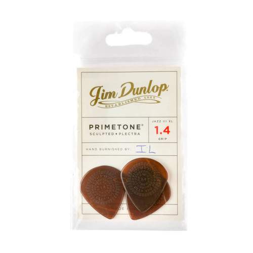 Jim Dunlop Primetone® 1.40mm Jazz III XL Players Pack